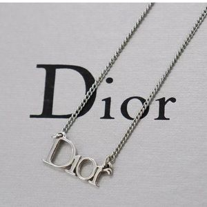 Authentic Christian Dior Motif Chain Necklace